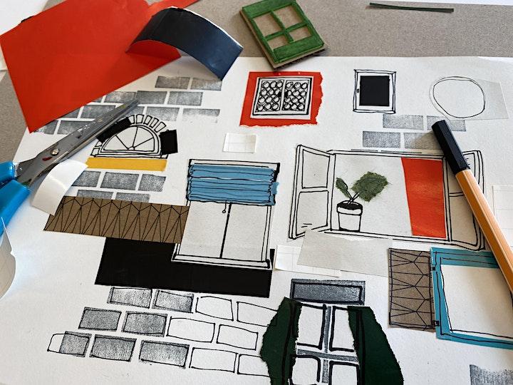Online-Workshop | Collage: kleben, schneiden, reißen I Für 6-bis 12-Jährige: Bild