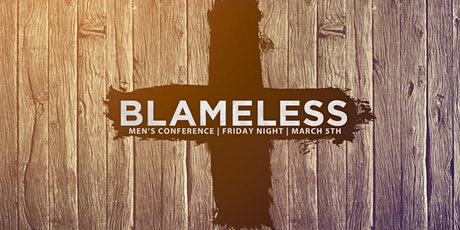 Blameless Men's Night tickets