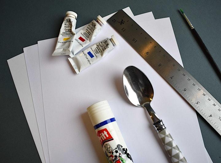 Gwnewch lyfr braslunio lliwgar eich hun!/ Make a colourful mini sketchbook! image