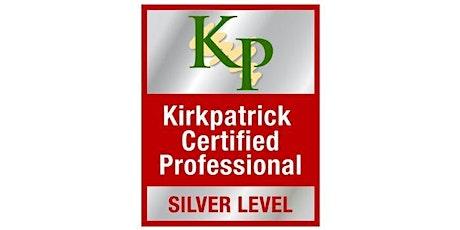 Kirkpatrick Silver Level Certification (Online) tickets
