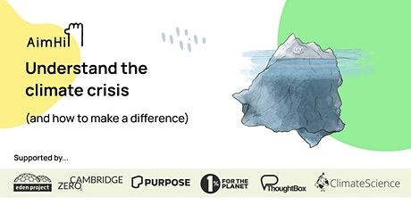 Understand the climate crisis (and how to make a difference) tickets