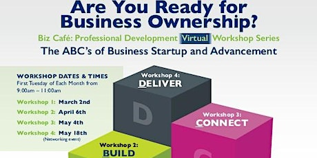 The ABC's of Business Startup and Advancement tickets