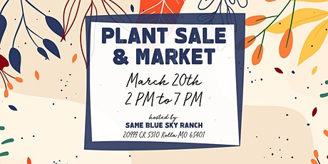 Spring Plant Sale & Market tickets