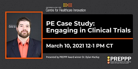 PE Lunchtime Learning Case Study: Engaging in Clinical Trials tickets