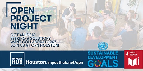 Open Project Night: Ensuring Inclusive and Equitable Quality Education tickets