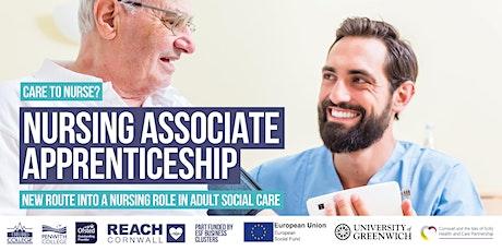 Care to Nurse?  Nursing Associate Apprenticeship Online Info Session tickets