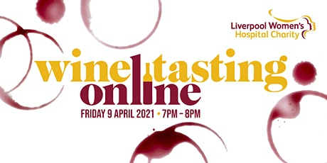 Virtual Wine Tasting Charity Event tickets