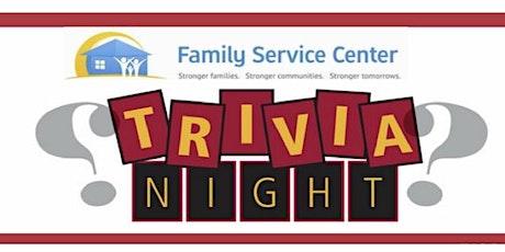 Family Service Center Virtual Trivia Night tickets