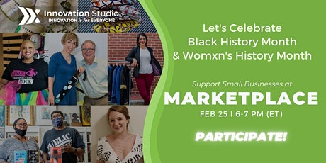 Marketplace: Let's Honor Black History Month & Women's History Month tickets