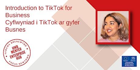 Lunch and Learn: TikTok | Cinio a Dysgu: TikTok tickets