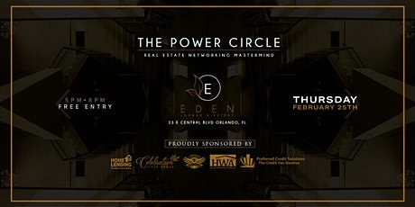 The Power Circle: Real Estate Networking Mastermind tickets