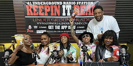 Taste of Ms. Chaquita S. Show @ Keepin It Real Underground Radio tickets