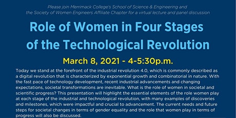 Role of Women in Four Stages of the Technological Revolution tickets