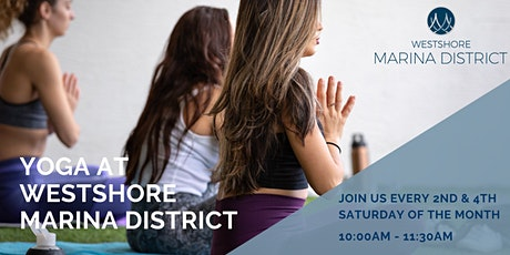 Yoga on the Westshore Marina  Promenade tickets