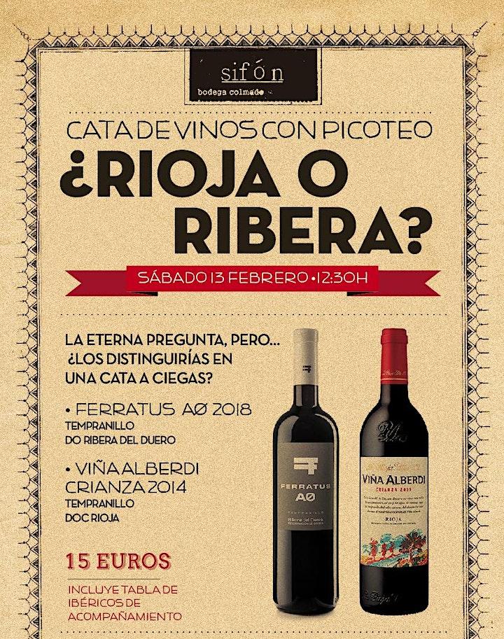Imagen de CATA DE VINOS: ¿RIOJA O RIBERA?