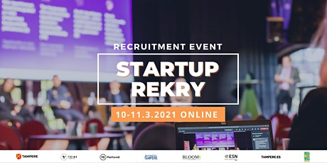 Startup Rekry Recruitment Event (ONLINE - Tampere.Finland) tickets