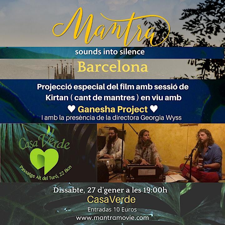 """Imagen de Proyección film """"Mantra. Sounds into silence"""" + kirtan"""
