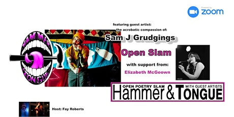 Hammer & Tongue Cambridge featuring Sam J Grudgings and Elizabeth McGeown tickets