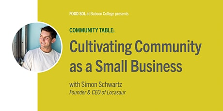 Community Table: Cultivating Community as a Small Business tickets