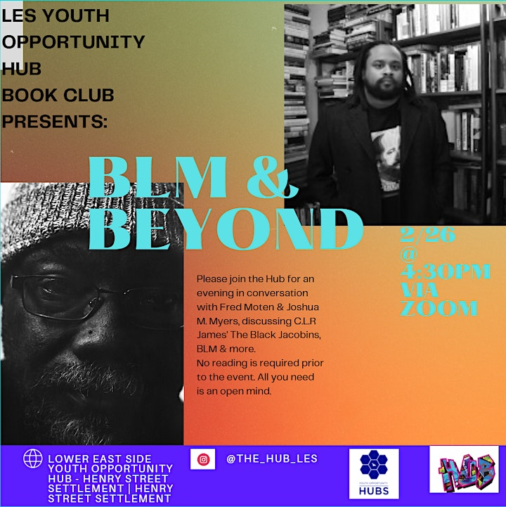 LES Youth Opportunity Hub Book Club Presents: BLM & Beyond image