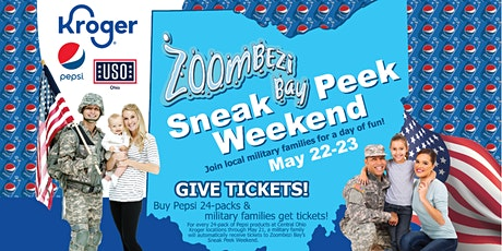 2021 Zoombezi Bay Sneak Peek Weekend for Military tickets