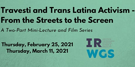 Travesti and Trans Latina Activism - From the Streets to the Screen biglietti
