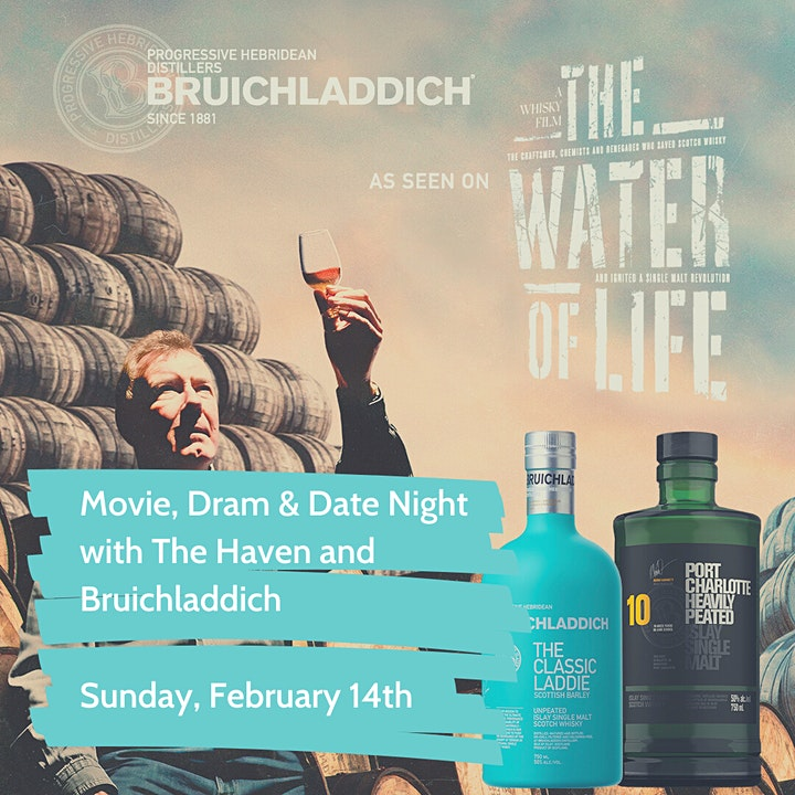 Valentine's Movie Night with The Haven and Bruichladdich image
