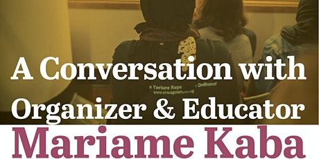Mariame Kaba: Chicago Reparations and the Fight for an Abolitionist Future tickets