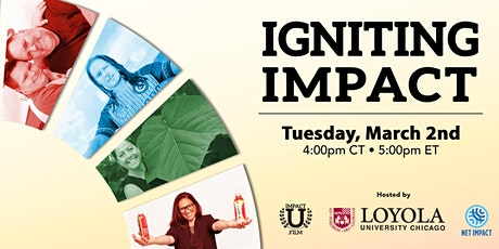 Igniting Impact Virtual Viewing with Steve Distante tickets