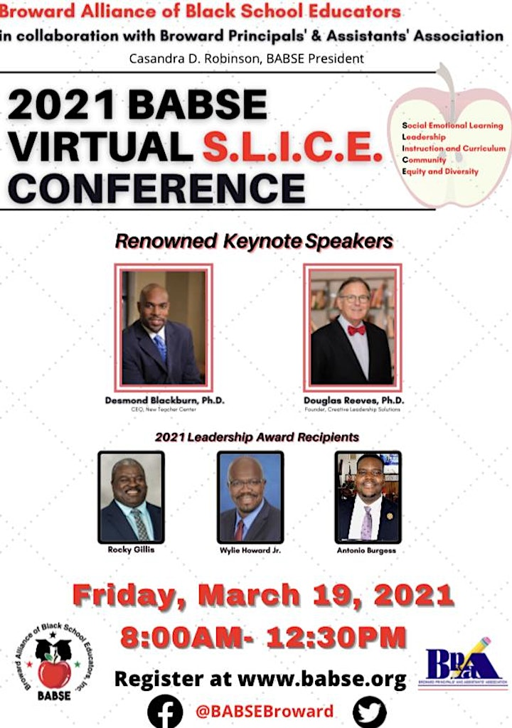 2021 BABSE Virtual S.L.I.C.E. Education Conference image