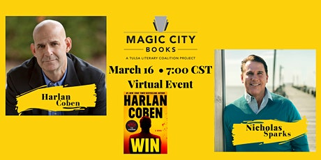 An Evening with Harlan Coben and Nicholas Sparks tickets