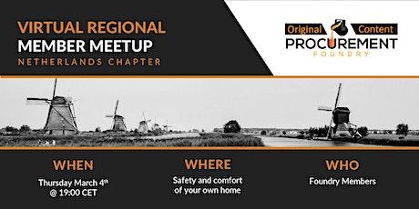 Virtual Member Meetup Netherlands tickets