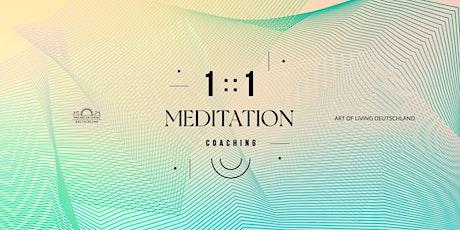 1:1 Meditation Coaching tickets