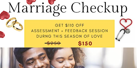 MARRIAGE CHECK-UP tickets