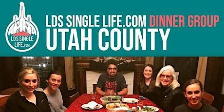 LDS Single Life.com Dinner Night Utah County tickets