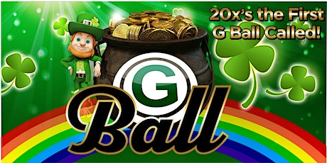 """G"" Ball Game - March  18th - St. Patrick's Day Party ingressos"