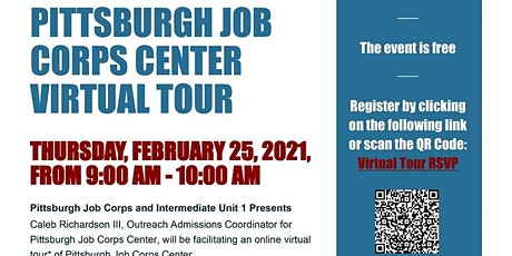 Pittsburgh Job Corps Center Live Virtual Tour tickets
