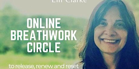 Drop-in Online Breathwork Circle tickets