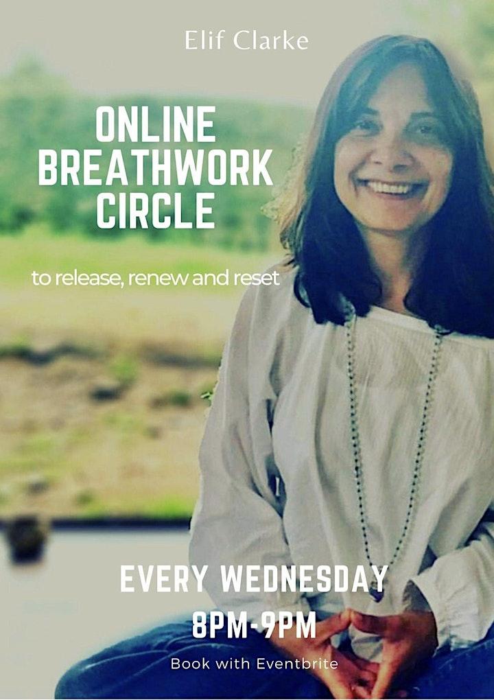 Drop-in Online Breathwork Circle image