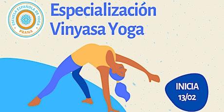Especialización Yoga Vinyasa (Argentina) entradas