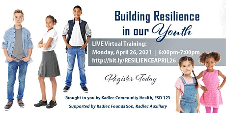 VIRTUAL COMMUNITY HEALTH PROGRAM - Building Resilience in our Young People tickets