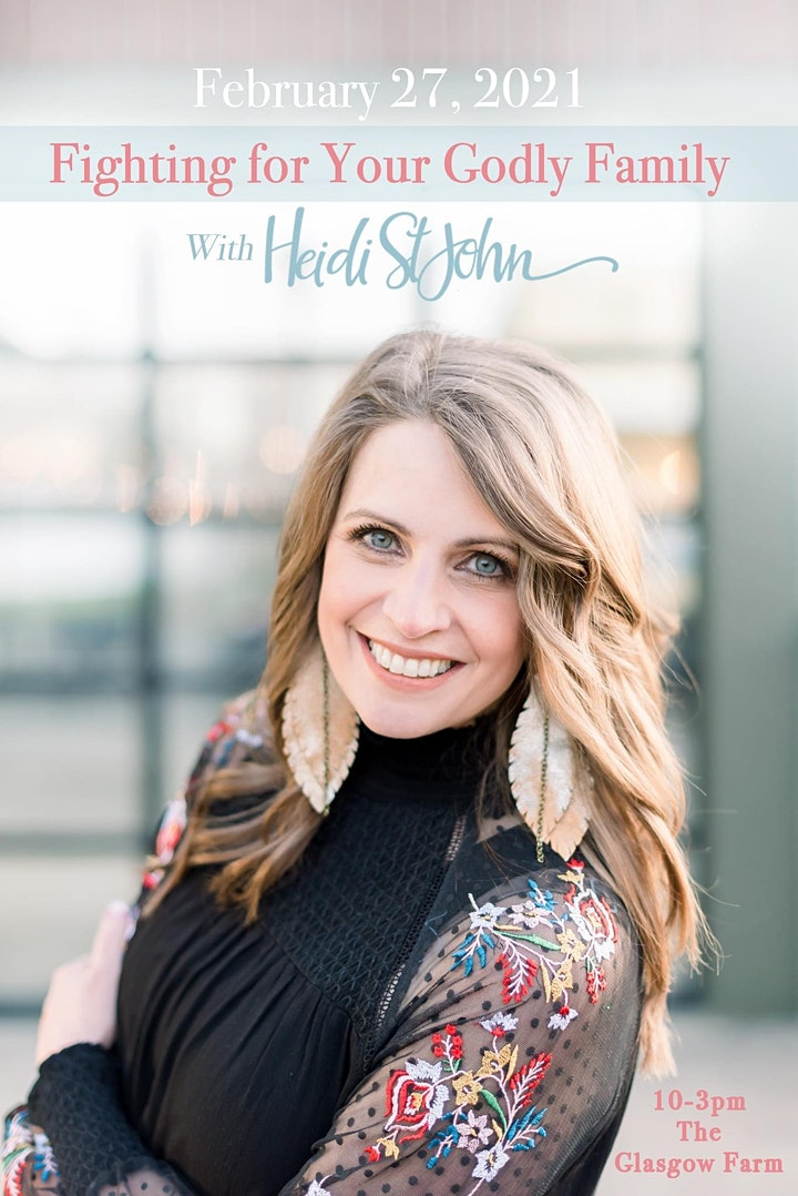 Fighting for Your Godly Family with Heidi St. John ~ Women's Conference image