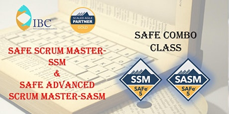 SAFe Combo - Scrum Master 5.0 and Advanced Scrum Master 5.0 tickets
