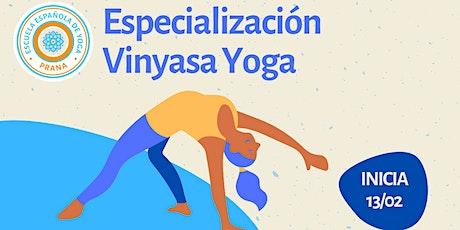 Especialización Yoga Vinyasa (Iberoamérica) entradas