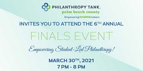 Philanthropy Tank - Palm Beach County's Finals Event tickets