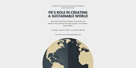 Reverse Mentoring: PR's Role in Creating a Sustainable World tickets