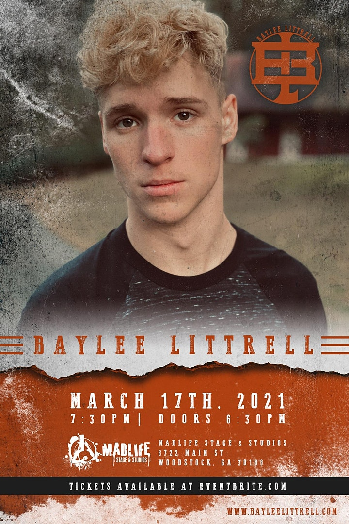 Baylee Littrell | VENUE SOLD OUT - LIVE STREAM TICKETS STILL AVAILABLE! image