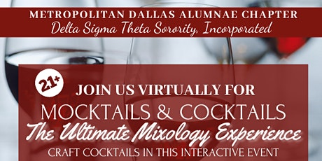 Mocktails & Cocktails: The Ultimate Mixology Experience tickets