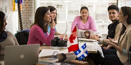 Webinaire pour les candidats du Québec | Webinar for Québec students billets