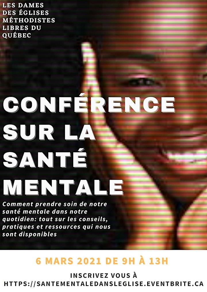 Conférence sur la santé mentale image